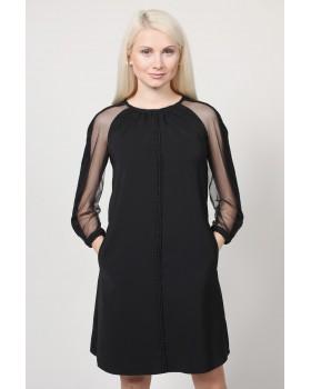 Сукня чорна вільного силуету
