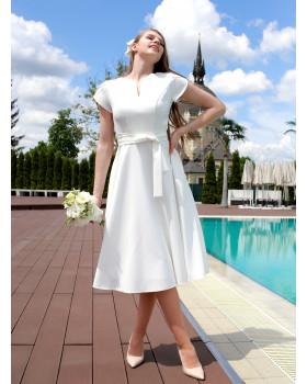 Сукня святкова міді
