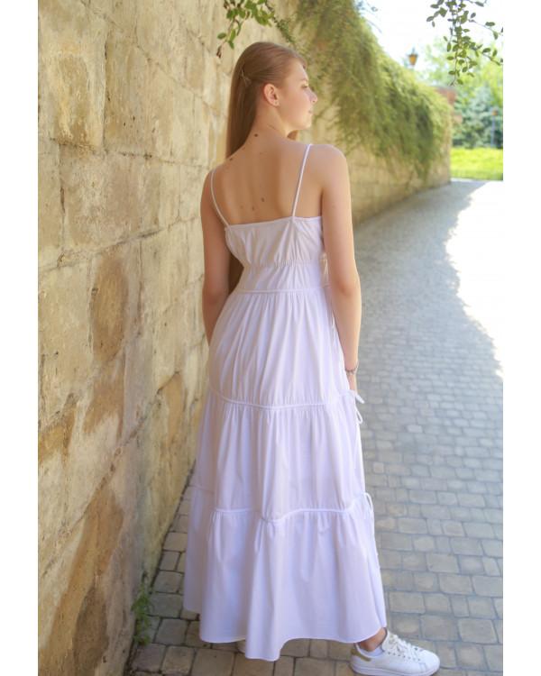 Літня довга сукня