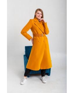 Пальто під широкий пояс