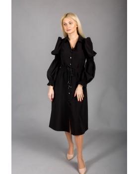 Сукня-сорочка чорна