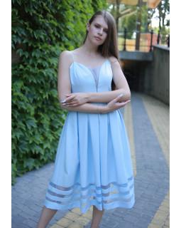 Сукня на бретелі