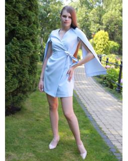 Сукня з розрізаним рукавом
