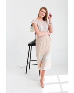 Вечірня сукня з глітером