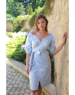 Сукня з об'ємним рукавом